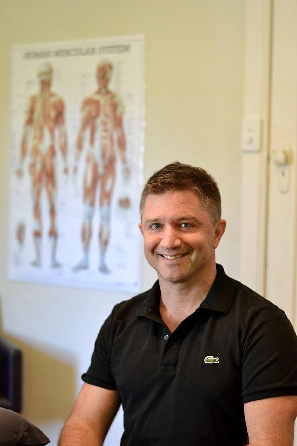 Dan Surkitt Osteopath Sitting